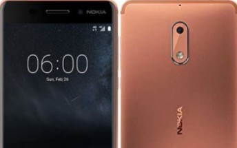 Nokia 6 copper variant won't be available in US until next month