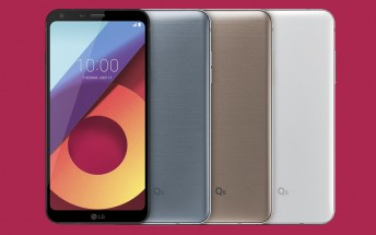 LG Q6 sales set to begin August 2