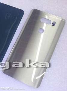 LG V30 back panel (leak)