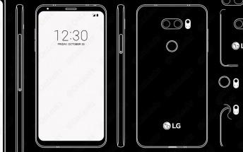 LG V30 design confirmed, camera could also have f/1.6 aperture