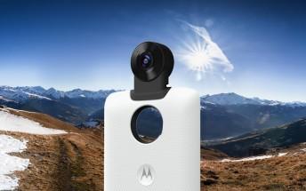 Moto 360 Camera Mod: spherical panorama camera for the Moto Z phones