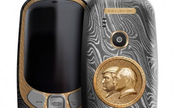 Caviar launches Nokia 3310 Putin-Trump Summit edition, yours for $2,466