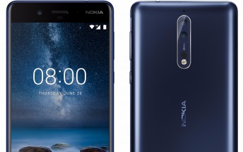 Nokia 8 leaks in all its glory, press renders and specs outed