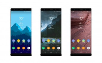 Samsung Galaxy Note8 leaks in new renders showing its front