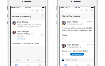 Microsoft Outlook for Android and iOS gets redesigned conversations and navigation