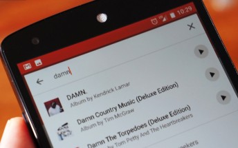 Google Play Music for Android tests letting you play songs directly from search