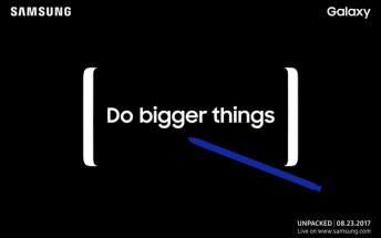 Samsung Galaxy Note8 pre-orders may start on September 1