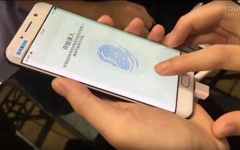 Watch this vivo on-screen fingerprint demo