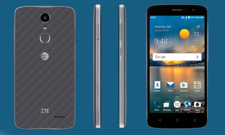 The ZTE Blade Spark is a $99 device with a fingerprint reader