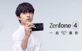 Asus teases Zenfone 4, showing the dual camera on its back