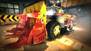As you can imagine, Carmageddon: Crashers is rated PEGI 18