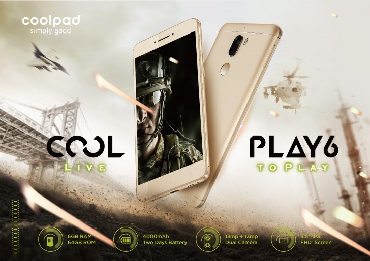 Coolpad Cool Play 6 launched in India