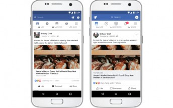 Facebook's News Feed gets a slight redesign on mobile