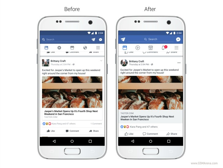 Facebook Redesigns Its News Feed To Improve Readability