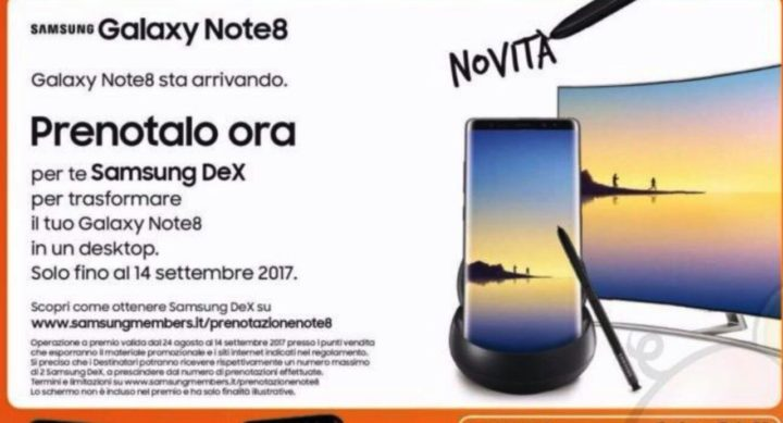 Galaxy Note 8 launch