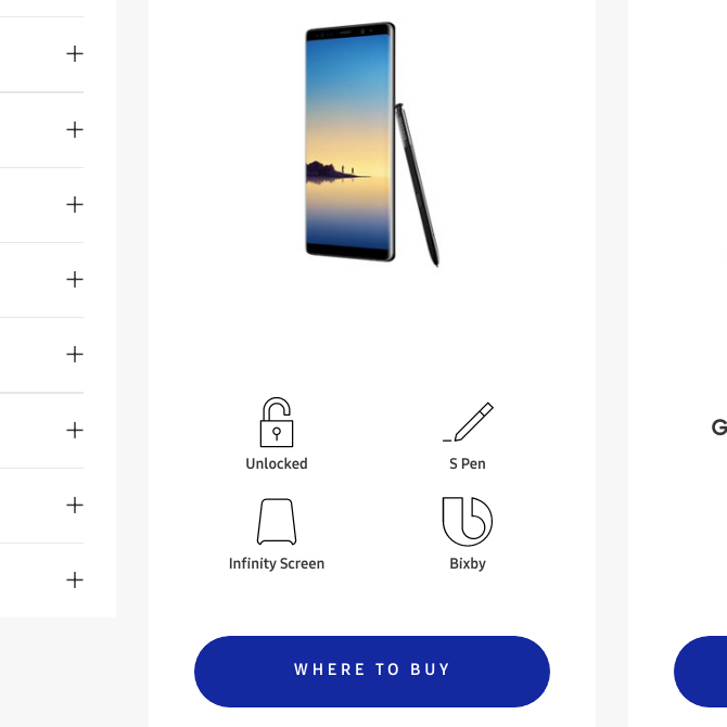 Galaxy Note8 briefly shows up on Samsung's official website [Updated]