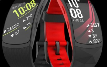 Samsung Gear Fit2 Pro leaked training materials reveal swim tracking, a better clasp
