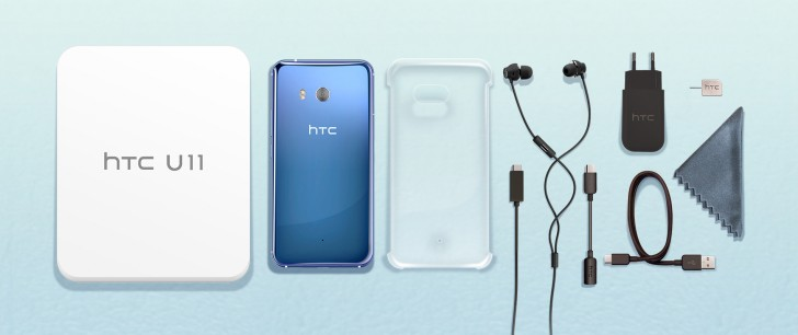 Image result for HTC U11 with 6GB of RAM and 128GB storage reaches Europe