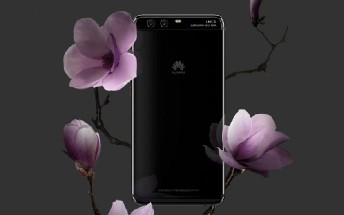 Huawei launches the P10 Plus in Bright Black color