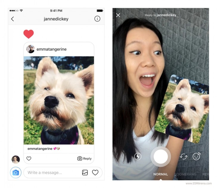 Instagram wants you to reply to friends' photos with their own photos