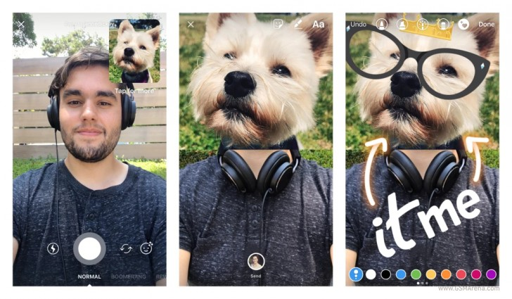 Instagram Direct now lets you reply with a photo or video