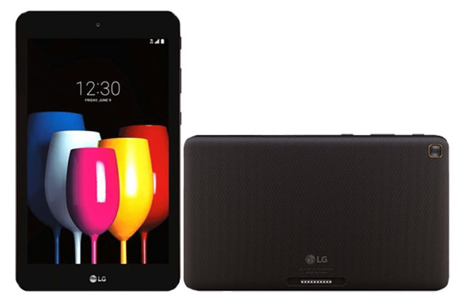 New LG GPad tablet leaks out, huge battery stand thingy and all