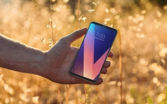 A lucky retweet can win you a free LG V30 from LG USA