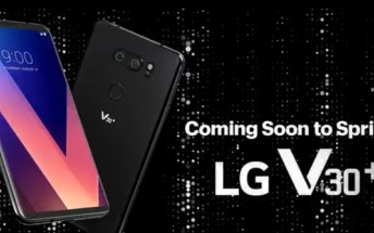 LG V30+ with 128GB storage is coming to Sprint