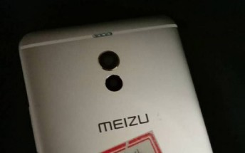Meizu M6 Note back panel leaks with dual camera