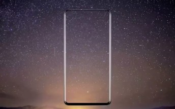 Xiaomi Mi Mix 2's outline shown on video by its designer, has even smaller bezels than the Mi Mix
