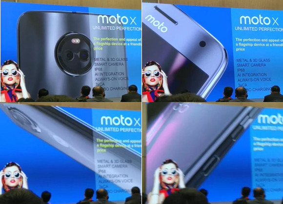 Moto X4 Final Design leaked on Twitter by Evan Blass