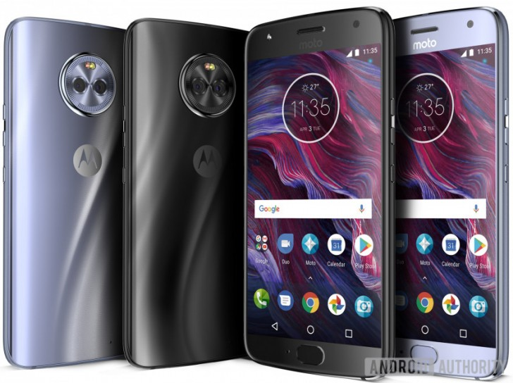 Moto X4 press renders leaked after the FCC listing