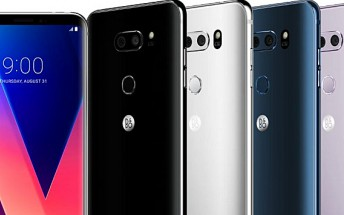 LG V30 leaks ahead of official announcement dressed in different colors