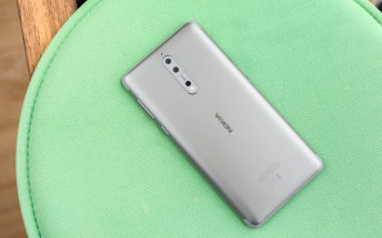 Nokia 8 is now available in Finland for €579