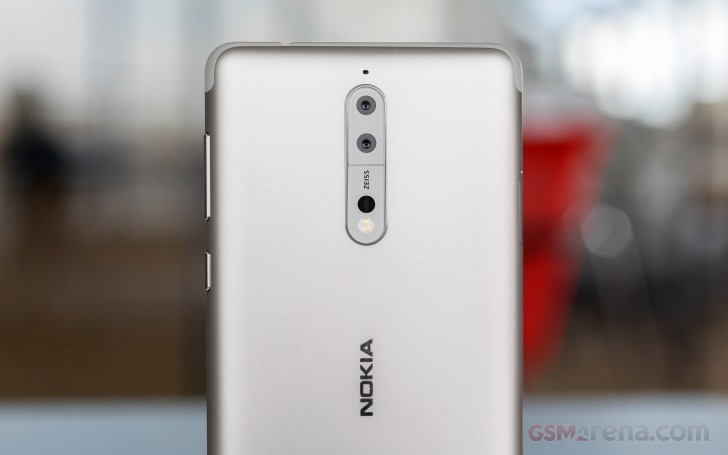 Just in: Nokia 8 hands-on
