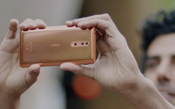 The official Nokia 8 video ads give us a better look at the phone