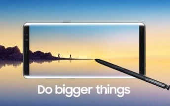 Samsung Galaxy Note8 US pre-orders to start on August 24. Sales on September 15