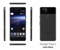 Google Pixel 2: Quite Black