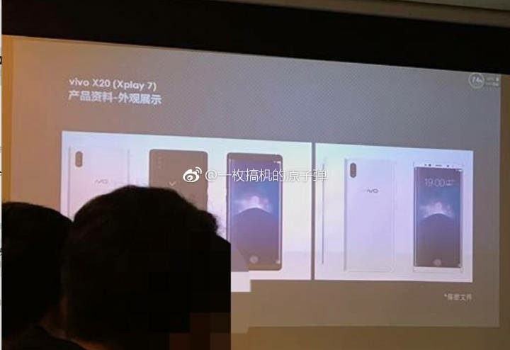 Vivo Xplay 7 with Under Display Fingerprint Sensor Spotted in Leaked Renders