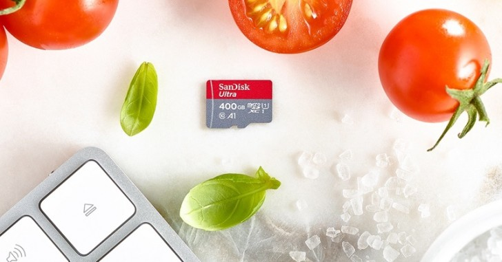 SanDisk launches 400GB microSD card