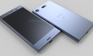 Sony Xperia XZ1 Compact stars in leaked renders, video