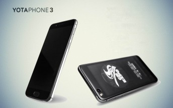 Dual-screen YotaPhone 3 debuts
