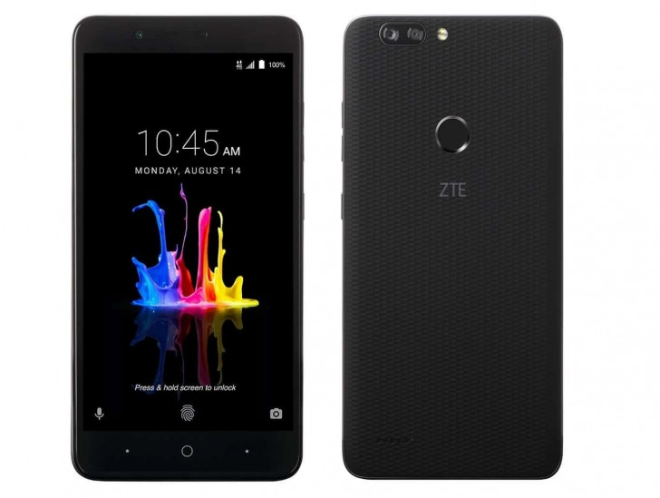 Zte Blade Z Max Announced With 6 Display And Dual Camera