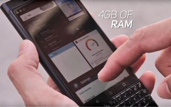 BlackBerry releases video showing the KEYone featuring Android Auto