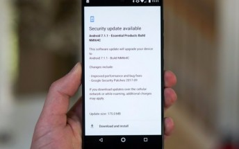 Essential Phone receives September security patches