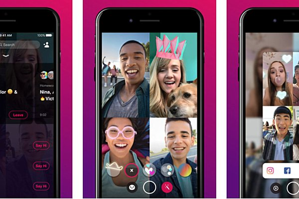 Facebook's group video chat app Bonfire starts rolling out