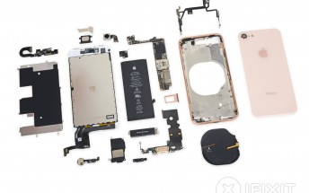 iPhone 8 teardown lays out its guts, results in average repairability score