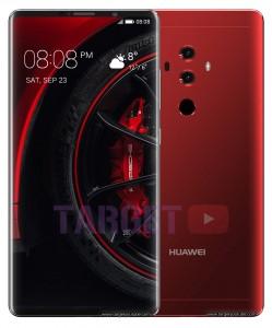 Huawei Mate 10 renders