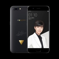 Three versions of the Oppo R11 TFBOYS Edition, one for each member