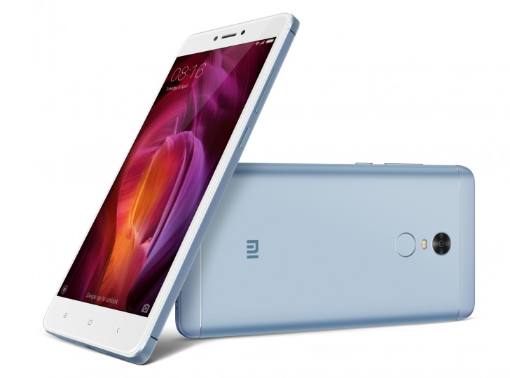 Image result for Xiaomi unveiled Redmi Note 4 Lake blue version; sale to begin from to 4 September